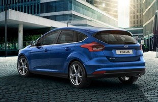 Ford Focus model roku 2014