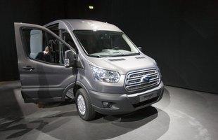 Odświeżony Ford Transit