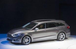 Nowy Ford Mondeo. W sprzedaży dopiero pod koniec 2014 roku