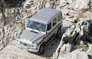 Odświeżony Mercedes klasy G