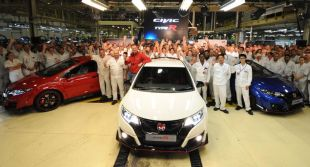 Honda Civic Type R już w produkcji