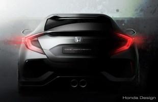 Honda Civic X coraz bliżej!