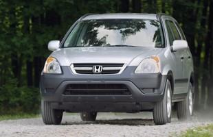 Honda CR-V II. Auto dobre, ale nie w teren