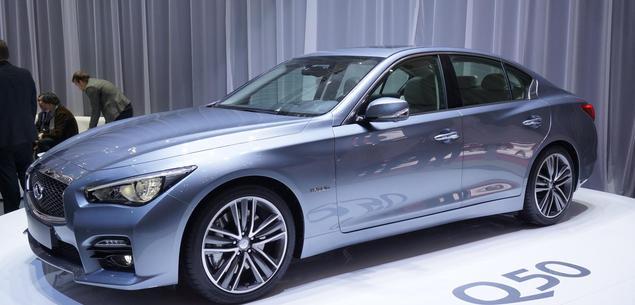 Infiniti Q50 z dieslem Mercedesa