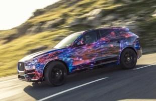 Jaguar F-Pace na zdjęciach i filmie