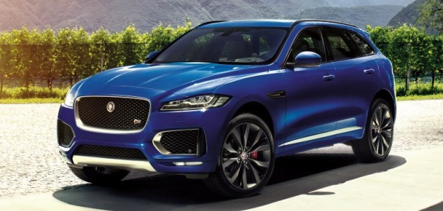 jaguar f pace oficjalnie. Black Bedroom Furniture Sets. Home Design Ideas