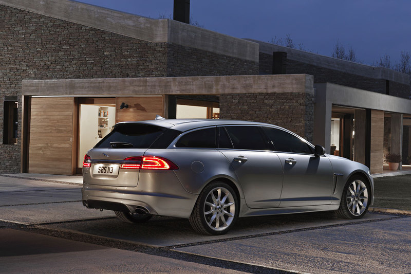 Jaguar XF - kombi 5 lat po sedanie
