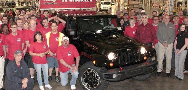 Jeep Wrangler. Już milion egzemplarzy!