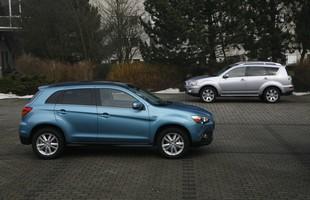 Mitsubishi ASX i Mitsubishi Outlander poprzedniej generacji