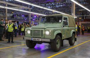 Land Rover Defender juz na emeryturze