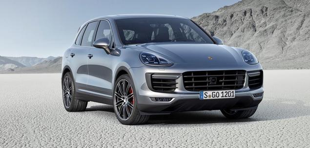 Lifting Porsche Cayenne