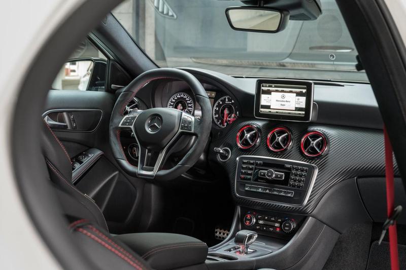 Mercedes A45 AMG. Ma aż 360 KM!