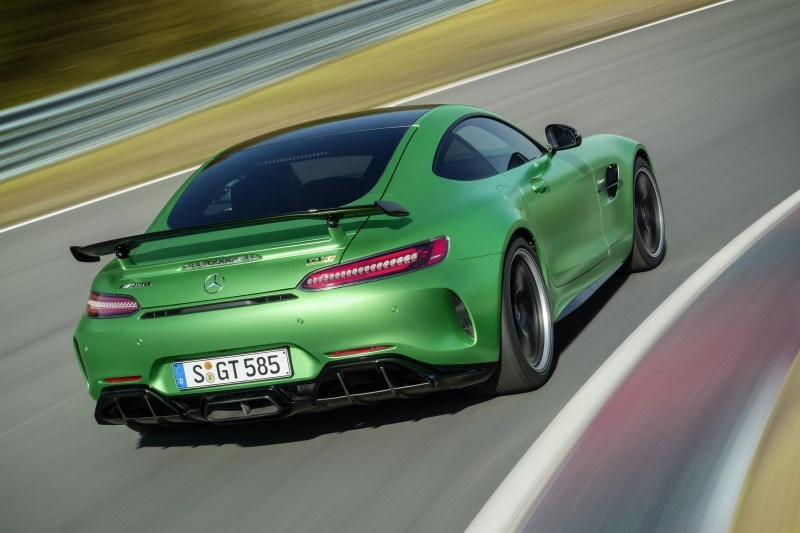 Mercedes-AMG GT R. Najmocniejszy!