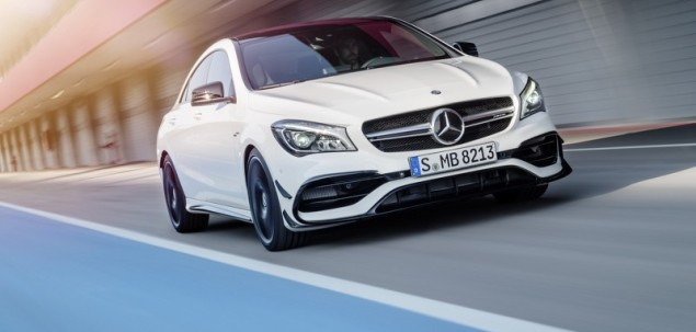 Mercedes CLA po liftingu