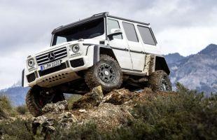 Mercedes G 500 4x4² do produkcji!
