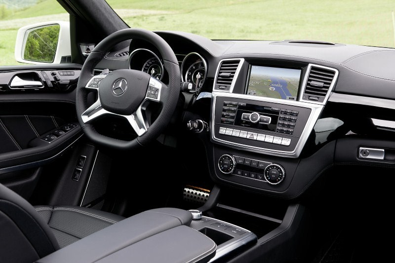 Mercedes GL 63 AMG. Rakietowy SUV