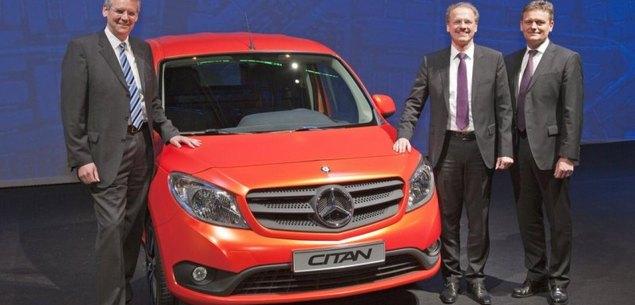 Mercedes jak Renault. Oto nowy Citan!