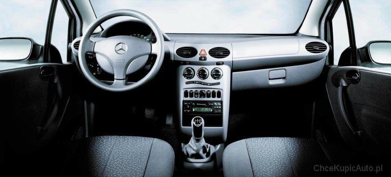 Mercedes klasy A. Ten test łosia...