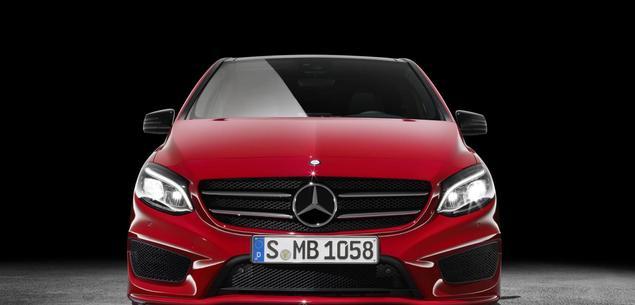 Mercedes klasy B po liftingu