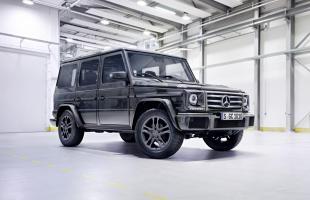 Mercedes klasy G z nowym silnikiem