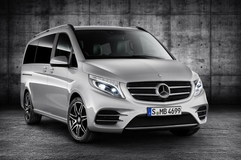 Mercedes klasy V w wersji... AMG
