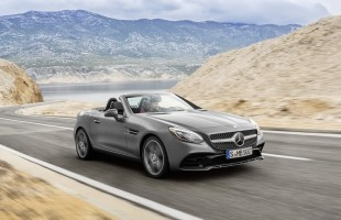 Mercedes SLC zastępuje SLK