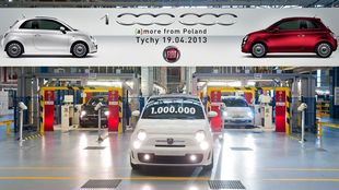 Milionowy egzemplarz Fiata 500
