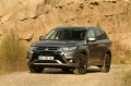 Mitsubishi Outlander PHEV ze świetnym wynikiem