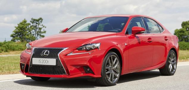 Lexus  IS 200t - znamy ceny!