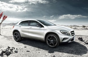Na początek: Mercedes GLA Edition 1