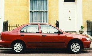 Nissan Almera N15 sedan był produkowany tylko w Japonii