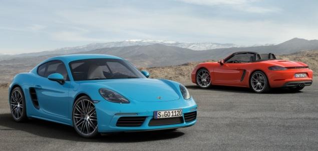 Nowe Porsche 718 Cayman