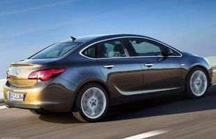 Nowy Opel Astra Sedan. Debiut w Moskwie!