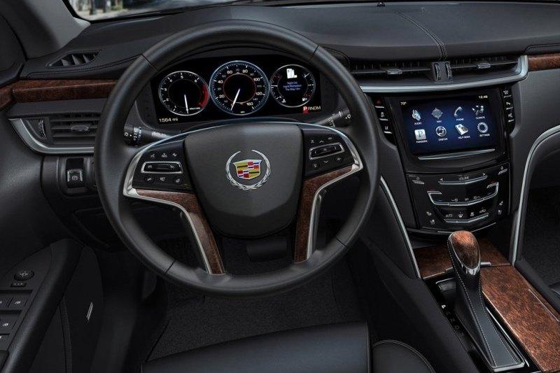 Wnętrze Cadillaca XTS - zdjęcie 7 - ChceAuto.pl