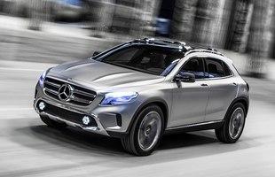 GLA - nowy SUV Mercedesa