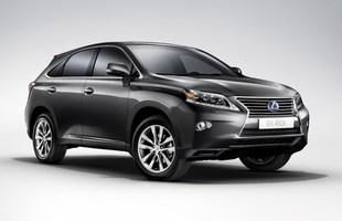 Odświeżony Lexus RX
