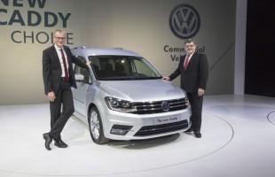 Światowa premiera VW Caddy w Poznaniu