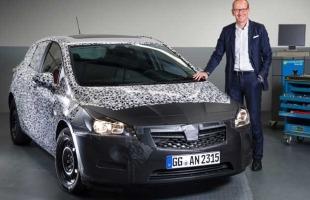 Opel Astra V oficjalnie