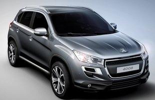 Oto całkiem nowe auto - Peugeot 4008!