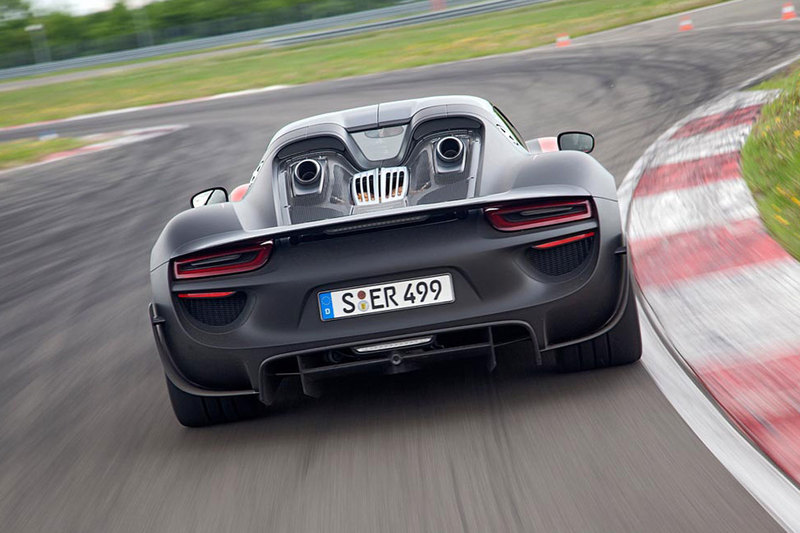 Oto produkcyjne Porsche 918 Spyder!