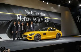 Oto Mercedes AMG GT!