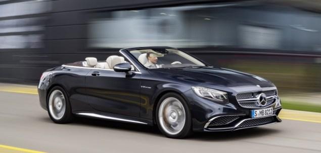 Oto Mercedes-AMG S 65 Cabriolet