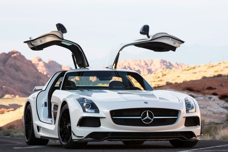 Mercedes SLS - AMG Black Series