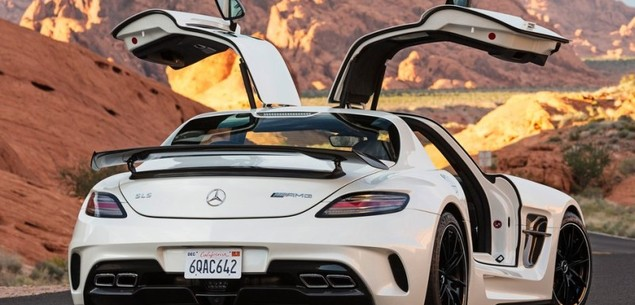 Mercedes SLS - AMG Black Series