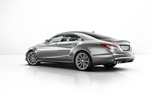 Mercedes CLS 63 AMG wersja coupe
