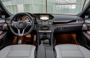 Wnętrze Mercedesa E63 AMG