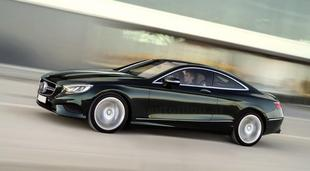Oto nowy Mercedes S Coupe!