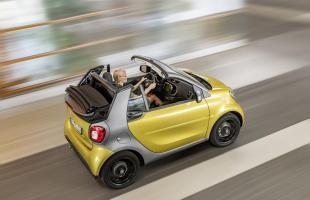 Oto nowy Smart Fortwo cabrio