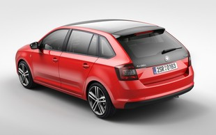Oto Skoda Rapid Spaceback!