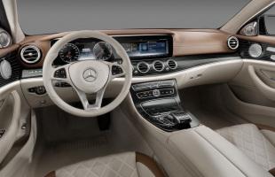 Wnętrze nowego Mercedesa klasy E